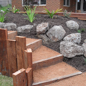 Hard soft landscape construction in melbourne australia for Landscape construction melbourne